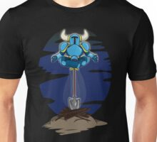 Shovel Yoga Knight Unisex T-Shirt