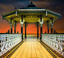 Brighton's Promenade Bandstand by Chris Lord