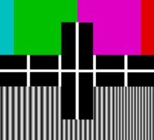 TV test Screen Sticker