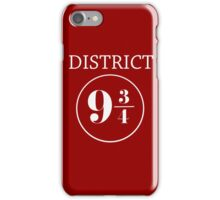Fandom Crossover District 9 3/4 iPhone Case/Skin