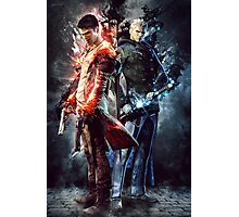 DmC Devil May Cry Twin brothers Photographic Print