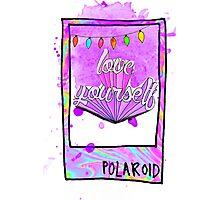 LOVE YOURSELF Photographic Print
