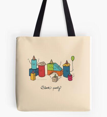 Block party Tote Bag