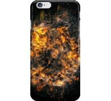 Digitally created Exploding supernova star  iPhone Case/Skin