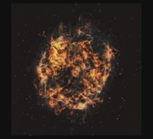 Digitally created Exploding supernova star  by PhotoStock-Isra