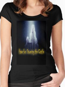 Famous humourous quotes series: Have fun storming the castle  Women's Fitted Scoop T-Shirt