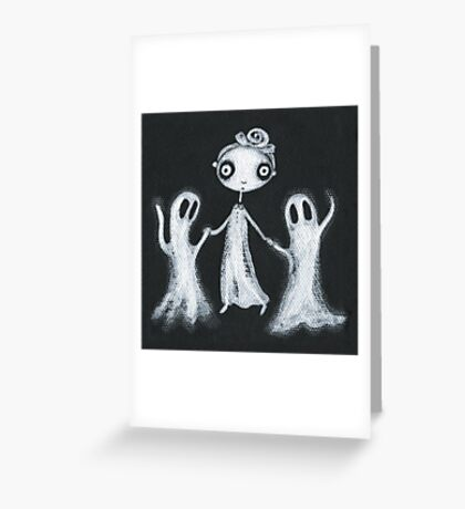 Walking the Ghosts Greeting Card