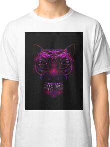 Creepy Mask Cat Illustration Classic T-Shirt
