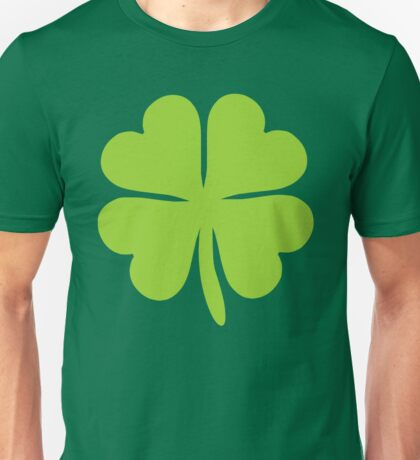 Lucky Irish Shamrock Clover Unisex T-Shirt