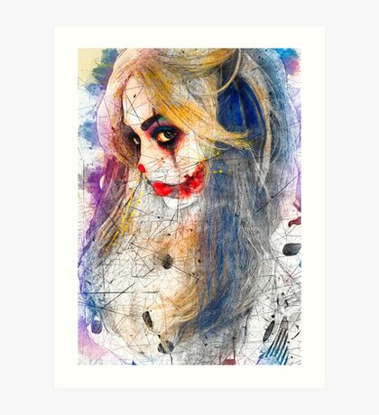 Tender Image of Fear Art Print