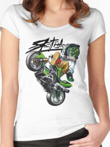 SPREADER Women's Fitted Scoop T-Shirt