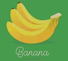 Banana (taupe) - Natural History Fruits Baby Tee