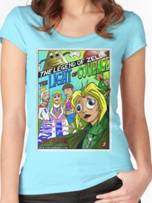 The Legend, is more than just a game! (CuteLucca) Women's Fitted Scoop T-Shirt