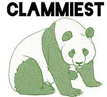 Clammiest Panda (Green) by ProjectMayhem