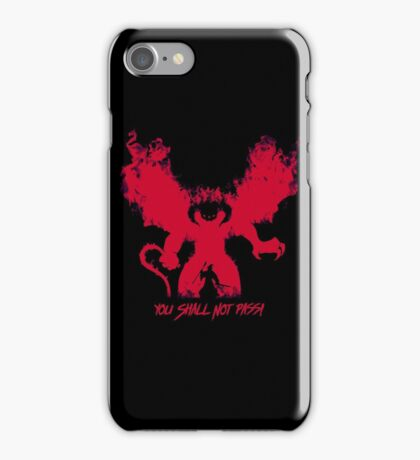 Durin's Bane iPhone Case/Skin