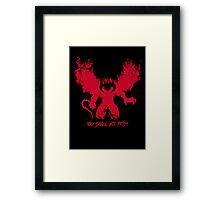 Durin's Bane Framed Print