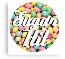 Sugar Hit Jelly Bean Logo Canvas Print