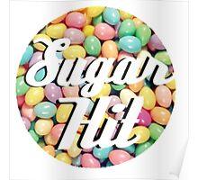 Sugar Hit Jelly Bean Logo Poster