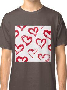Ink brush HEARTS Classic T-Shirt