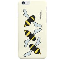 Bees Please iPhone Case/Skin