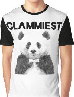 Clammiest Panda  Graphic T-Shirt