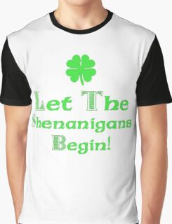 St Patrick's Day Shenanigans Irish Graphic T-Shirt