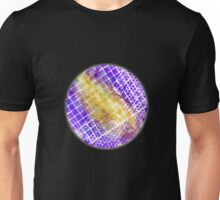 Purple and Gold Squared Unisex T-Shirt