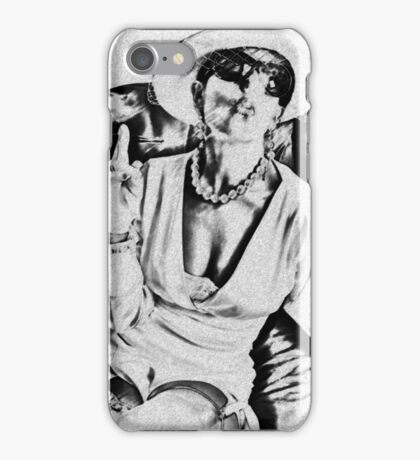 Woman of class iPhone Case/Skin