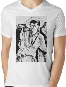Woman of class Mens V-Neck T-Shirt