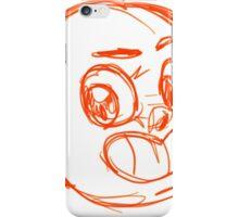 Sketch Face iPhone Case/Skin