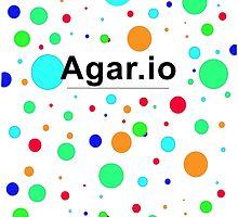 Agar.io logo by DesignMil