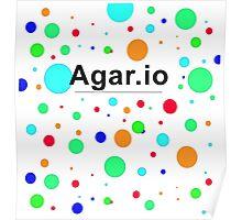 Agar.io logo Poster