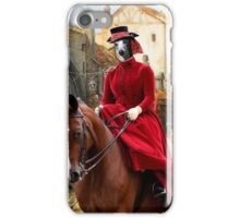 Whippet Art - The Hunt iPhone Case/Skin