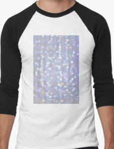 Fairy lights bokeh Men's Baseball ¾ T-Shirt