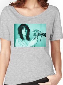 Patti Smith - Tee Print Women's Relaxed Fit T-Shirt