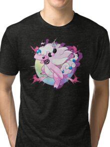 Shiny Mega Ampharos Tri-blend T-Shirt