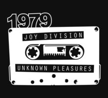 Post-punk  Unknown Pleasures by Theuswhite