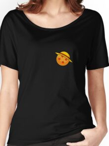 One Piece Featuring Dragon Ball Z  Women's Relaxed Fit T-Shirt