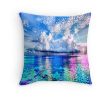 Lonely Ocean Throw Pillow