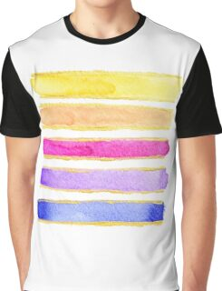 summer stripes Graphic T-Shirt