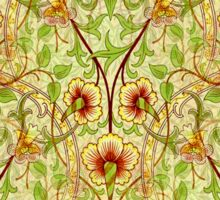 The Daffodil Abstract Design Sticker