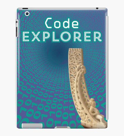 Code Explorer iPad Case/Skin