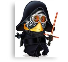 Minion Kylo Ren Canvas Print