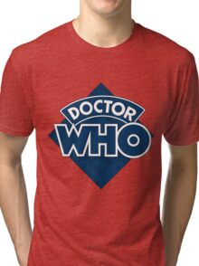 Dr who logo 1973-1980 Tri-blend T-Shirt