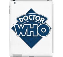 Dr who logo 1973-1980 iPad Case/Skin