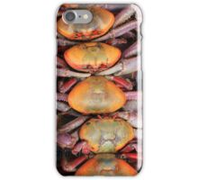 Live Crabs at the Market iPhone Case/Skin