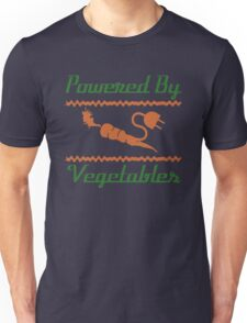 Powered by Vegetables Unisex T-Shirt