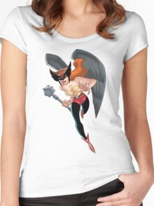 Hawkgirl Women's Fitted Scoop T-Shirt