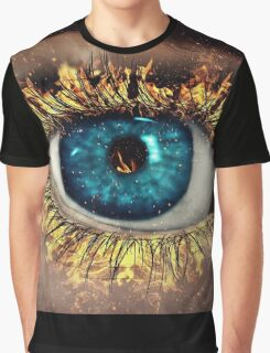 Eye in Flames Graphic T-Shirt
