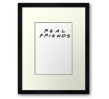 Real Friends - Kanye Framed Print